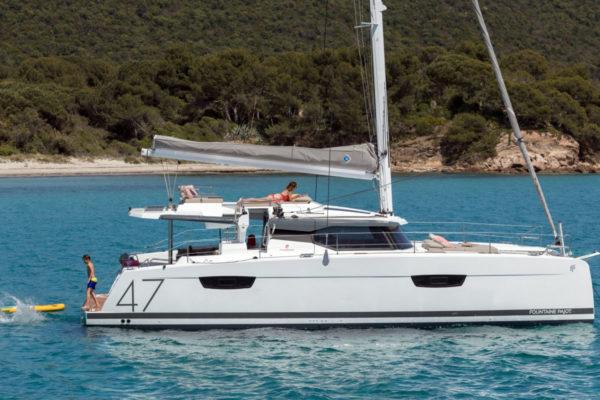 catamaran saona 47 nocrala de goa catamaran