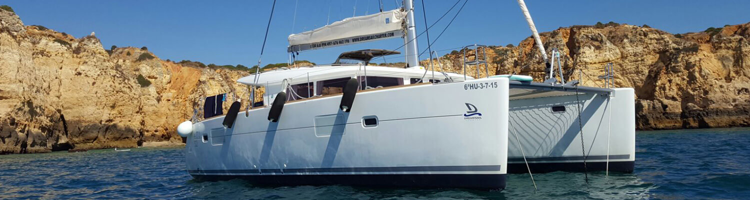 catamaran lagoon 400 S2 nailah goa catamaran rent boat ibiza