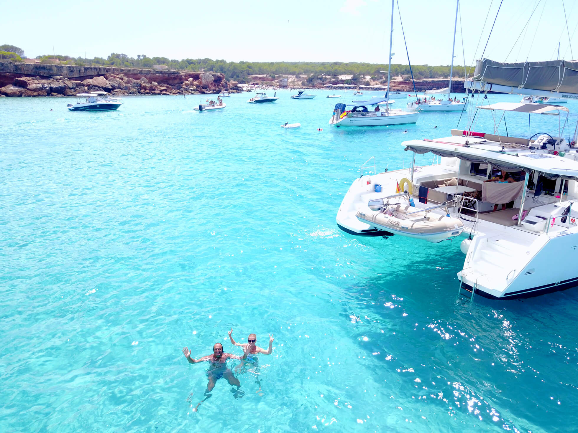 experiencia excursion barco Formentera