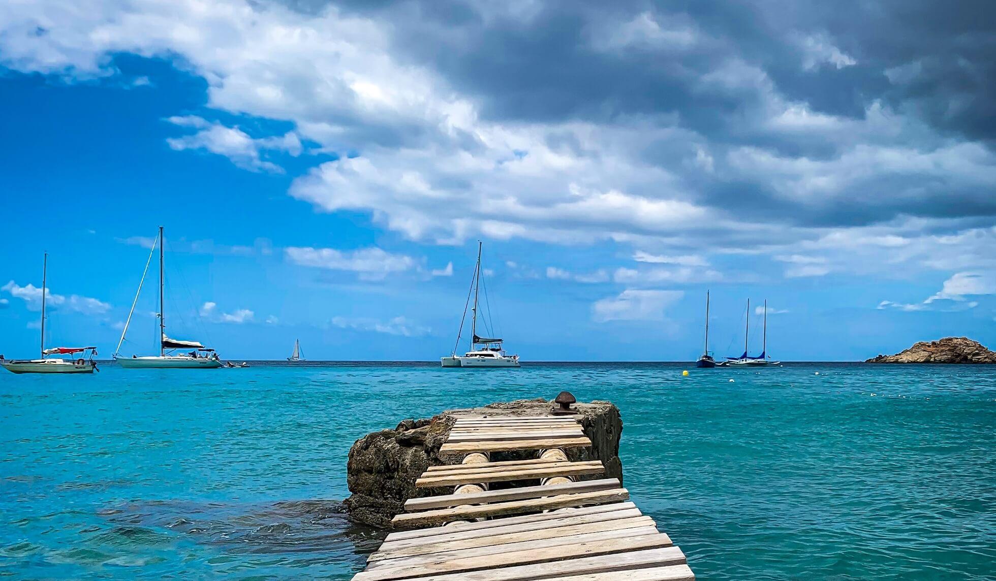 alquiler de barcos en ibiza catamaranes