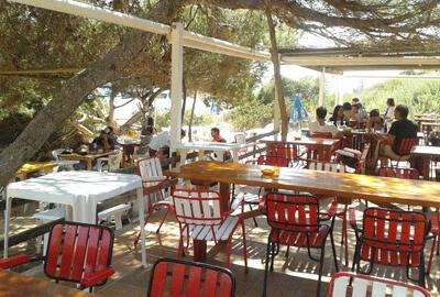 Platgeta Migjorn Chiringuito Formentera