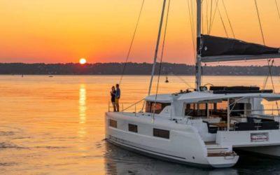 New catamaran Lagoon 46 in Ibiza and Formentera