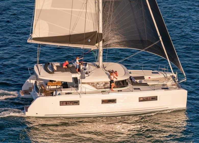 catamaran week charter lagoon 46 ibiza