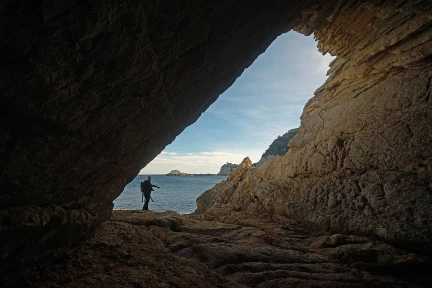 Cueva inclinada de Ibiza 2021