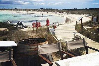 El Pirata kiosco chiringuito en Formentera